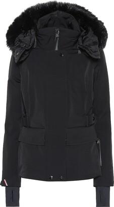 MONCLER GRENOBLE Entova fur-trimmed down jacket