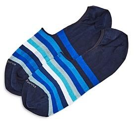 Marcoliani Milano Invitouch Striped No-Show Socks