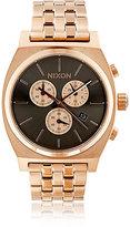 Nixon Men's Time Teller Chrono Watch-PINK