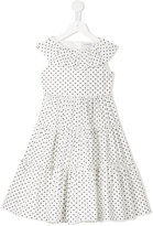 Dolce & Gabbana polka dot dress - kids - Cotton - 4 yrs