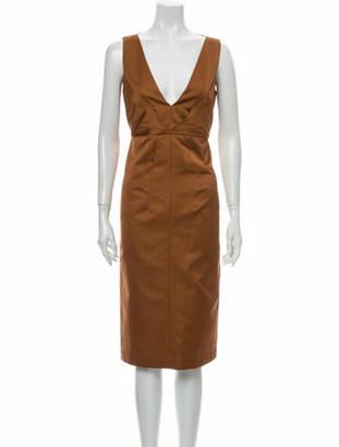 No. 21 X Kartell V-Neck Midi Length Dress w/ Tags