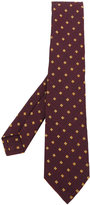 Kiton geometric pattern tie - men - Silk/Cotton/Wool - One Size