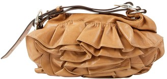 Saint Laurent Camel Leather Handbags