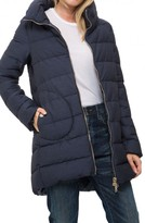 Herno High Low Puffer Coat
