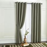 WholeHome 2-Pack 'Jackie' Faux-Silk Blackout Grommet Panels - Curtain