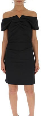 Helmut Lang Draped Short Dress
