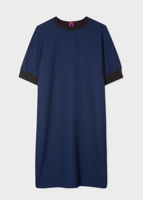 Paul Smith Women's Dark Navy Sweatshirt Dress