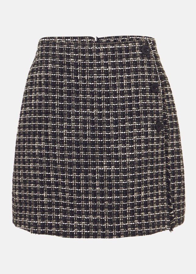 Thumbnail for your product : Phase Eight Patch Tweed Skirt