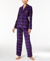 Lauren Ralph Lauren Plaid Fleece Pajama Set