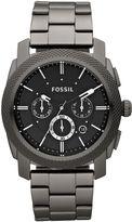 Fossil Fs4662 Machine Brown Leather Watch