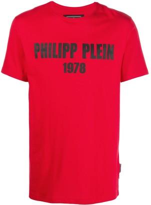 Philipp Plein 1978 logo print T-shirt