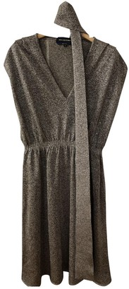 Vanessa Seward Silver Cotton - elasthane Dress for Women