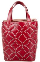 Alaia Small Grommet Tote