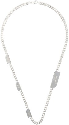 A-Cold-Wall* Logo Tab Chain Necklace