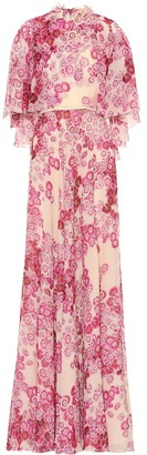 Giambattista Valli Floral silk gown
