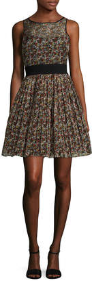 Manoush Marilyn Liberty Printed A Line Dress
