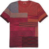 Missoni Space-Dyed Wool-Blend T-Shirt