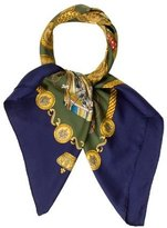 Hermes Les Tambours Scarf