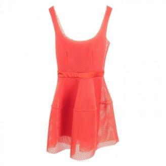 Maje Orange Polyester Dresses