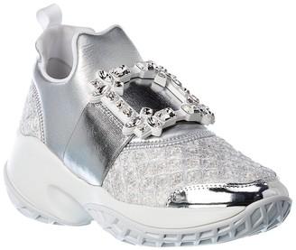 Roger Vivier Viv' Run Strass Buckle Sneaker