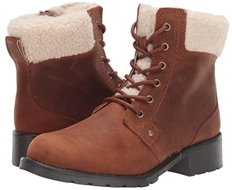 Clarks Orinoco Dusk (Tan Warmlined Leather) Women's Boots