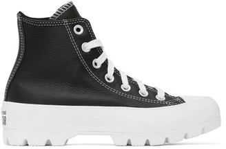 Converse Black Chuck Lugged High Sneakers