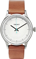 Tsovet - Jpt-c036 Stainless Steel And Leather Watch