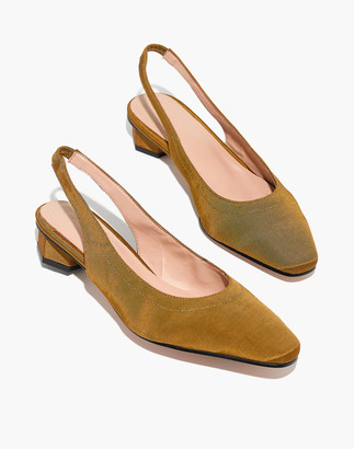 Madewell About Arianne Galo Vegan Slingback Shoes