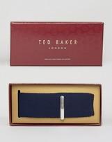 Ted Baker Tie & Tie Clip Gift Set