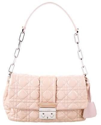 Christian Dior Cannage New Lock Flap Bag