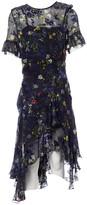 Preen by Thornton Bregazzi Blue Silk Dress for Women