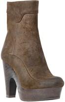 Max Studio Winston - Waxed Suede Platform Boots