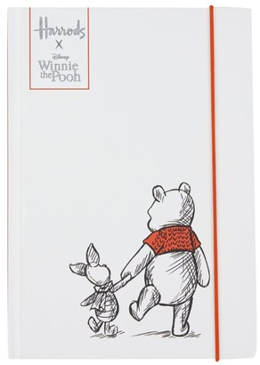 Harrods Winnie The Pooh A5 Notebook