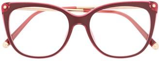 Dolce & Gabbana Eyewear Soft Square-Frame Glasses