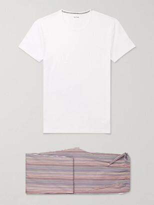 Paul Smith Striped Cotton Pyjama Set
