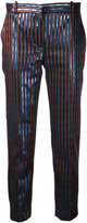 Carven striped cropped trousers