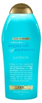 OGX Extra Hydrating Radiant Glow Argan Oil of Morocco Lotion 19.5 oz
