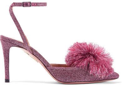 79533c8f3d6 Aquazzura Powder Puff Shoes - ShopStyle