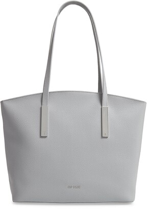 Ted Baker Large Samerra Curved Leather Shopper & Pouch