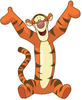 York Wall Coverings RoomMates Winnie the Pooh - Tigger Peel & Stick Giant Wall Decal