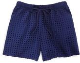 Aqua Girls' Square Mesh Shorts - Sizes S-XL