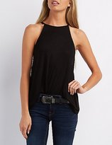 Charlotte Russe Caged Back Swing Tank