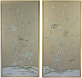 Simon Paul Scott Jardins en Fleur, Green Delicate Floral