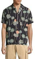 Wesc Nevin Relaxed Woven Hawaii-Print Shirt