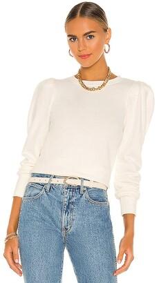 Nation Ltd. Nikka Pleat Shoulder Sweatshirt