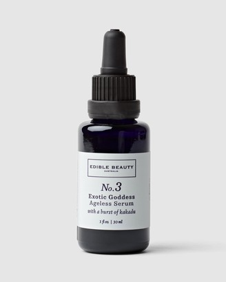 Edible Beauty Women's Multi Hydrating & Hyaluronic Serums - No. 3 Exotic Goddess Ageless Serum - Size One Size, 30mL at The Iconic