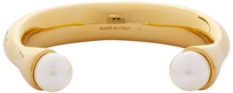 Chloé Gold Darcey Round Bracelet