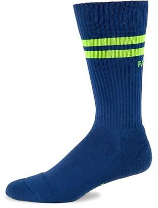 Falke Neon Logo Stripe Socks