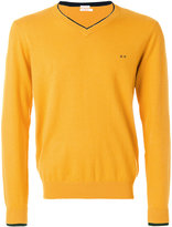 Sun 68 V neck sweatshirt