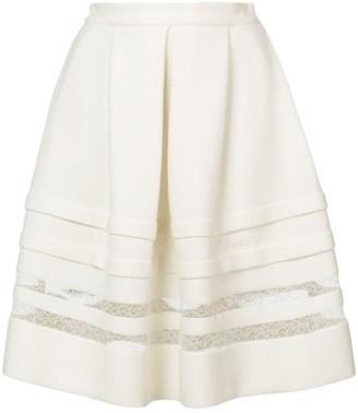 Ermanno Scervino Lace Detail Full Skirt